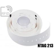 Braccialetti RFID stampa termica NFC NTAG213