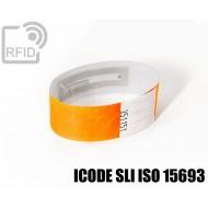 Braccialetti RFID Tyvek ® ICODE SLI ISO 15693