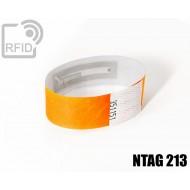 Braccialetti RFID Tyvek ® NFC NTAG213
