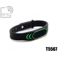 Braccialetti RFID silicone clip T5567 1