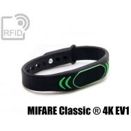 Braccialetti RFID silicone clip MIFARE Classic ® 4K EV1 1