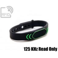 Braccialetti RFID silicone clip 125 KHz Read Only 1