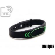 Braccialetti RFID silicone clip UNIQUE 1
