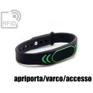 Braccialetti RFID silicone clip apriporta/varco/accesso 1
