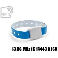 Braccialetto BLE Beacon RFID 13,56 MHz 1K 14443 A ISO
