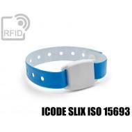 Braccialetto BLE Beacon RFID ICODE SLIX ISO 15693