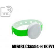 Braccialetto BLE temperatura e accelerometro MIFARE Classic ® 1K EV1