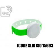 Braccialetto BLE temperatura e accelerometro ICODE SLIX ISO 15693