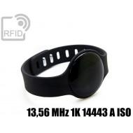 Braccialetto distanza sociale RFID 13,56 MHz 1K 14443 A ISO