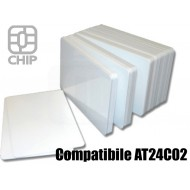 Tessere chip card bianche Compatibile AT24C02