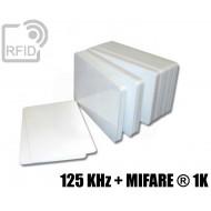 Tessere card doppia tecnologia 125 KHz + MIFARE ® 1K 1