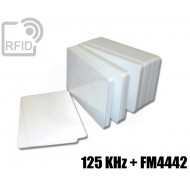 Tessere card doppia tecnologia 125 KHz + FM4442 1