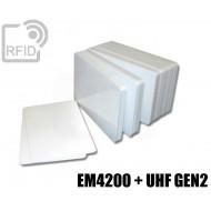 Tessere card doppia tecnologia EM4200 + H3 UHF