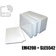 Tessere card doppia tecnologia EM4200 + SLE5542 1