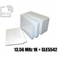 Tessere card doppia tecnologia 13,56 MHz 1K + SLE5542