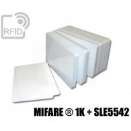Tessere card doppia tecnologia MIFARE ® 1K + SLE5542