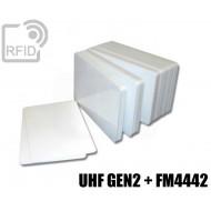 Tessere card doppia tecnologia H3 UHF + FM4442 1