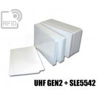 Tessere card doppia tecnologia H3 UHF + SLE5542