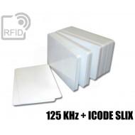 Tessere card doppia tecnologia 125 KHz + ICODE SLIX