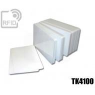 Tessere card bianche RFID TK4100