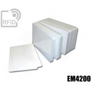 Tessere card bianche RFID EM4200