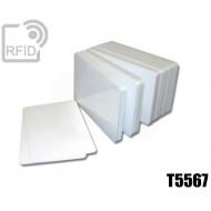 Tessere card bianche RFID T5567