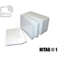 Tessere card bianche RFID HITAG ® 1