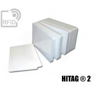 Tessere card bianche RFID HITAG ® 2 1