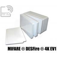 Tessere card bianche RFID NFC MIFARE ® DESFire ® 4K EV1