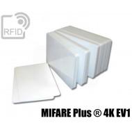 Tessere card bianche RFID MIFARE Plus ® S 4K