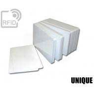 Tessere card bianche RFID UNIQUE