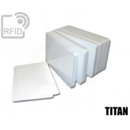 Tessere card bianche RFID TITAN