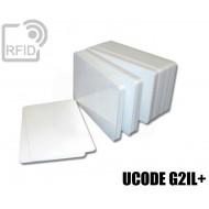 Tessere card bianche RFID TKS50
