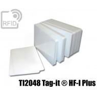 Tessere card bianche RFID NFC TI2048 Tag-it ® HF-I Plus
