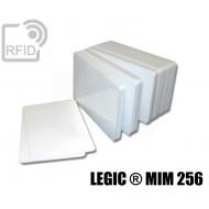 Tessere card bianche RFID LEGIC ® MIM 256