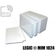 Tessere card bianche RFID LEGIC ® MIM 1024