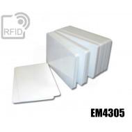 Tessere card bianche RFID EM4305