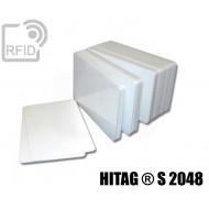 Tessere card bianche RFID HITAG ® S 2048