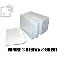 Tessere card bianche RFID NFC MIFARE ® DESFire ® 8K EV1