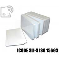 Tessere card bianche RFID ICODE SLI-S ISO 15693