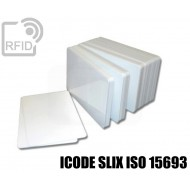 Tessere card bianche RFID ICODE SLIX ISO 15693