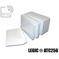 Tessere card bianche RFID LEGIC ® ATC256
