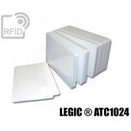 Tessere card bianche RFID LEGIC ® ATC1024
