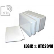 Tessere card bianche RFID LEGIC ® ATC2048