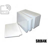 Tessere card bianche RFID SRIX4K