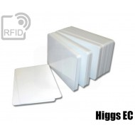 Tessere card bianche RFID Higgs EC 1