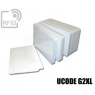Tessere card bianche RFID UCODE G2XL 1