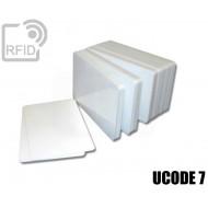 Tessere card bianche RFID UCODE HSL