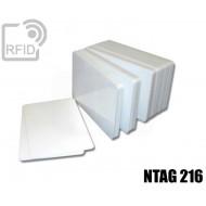Tessere card bianche RFID NFC NTAG216
