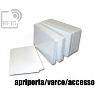 Tessere card bianche RFID apriporta/varco/accesso